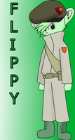 Flippy The Soldier by KlonoaForever