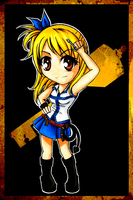 Lucy Chibi by HeartandVoice