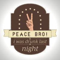 I Was drunk by APgraph