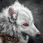 .:Red Eye:. by WhiteSpiritWolf