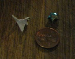 Tiny Origami by silverbeam