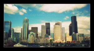 'The City Of Seattle' by AMayShulerphotogrphy