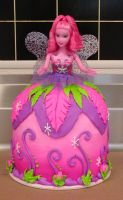 Barbie Signature Cake by ayarel