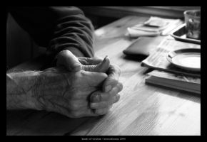 Hands of wisdom by monochromic