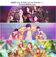 [Cover Z]HBBD Yuri (SNSD)and Gift for my friends by Sunham86