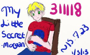 My Little Secret Cover COMPLETE by buddygirl1004