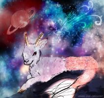 Capricorn the mermaid goat by Lorna-RoseFoX