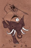 Love is a Four Tusked Elephant by creepstown