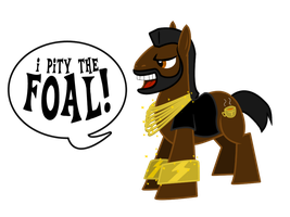 Mr T Pony by tom-turbo