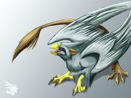 Green griffin by calger459