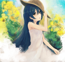 Love Live! Umi Sonoda by yudough