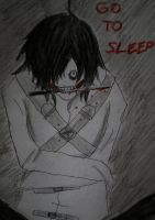 Jeff the killer story (manga) - COVER by mio-san13