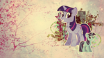 Wallpaper: Twilight Sparkle by MadBlackie