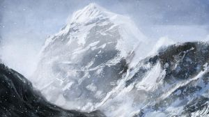 Snowy Mountains concept by Brollonks