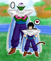 Master and Pupil by zoro4me3