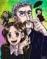 Doctor and friends by Fonora