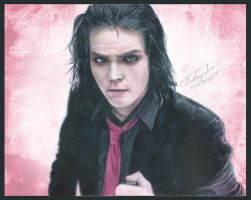 Gerard Way - Helena (Drawing) by Tokiiolicious