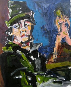 Self Portrait with female by PJager