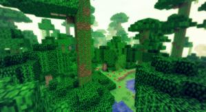 Minecraft - Le biome jungle ! by AleksCube