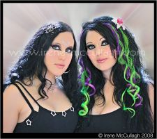 Gorgeous Goth Girls by substar