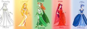 Princesses of the Silver Mil. by Le-Artist-Boheme