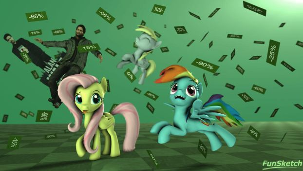 Sales Are The Best by LeePuppy64