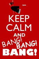 Keep Calm, Deadpool. by neilkristian