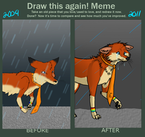 Draw it Again MEME by Aquillic-Tiger