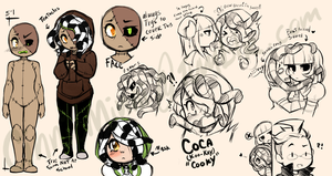Reaper High Student: Coca by CinniMinn