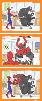+SHOPPING WITH SPIDERMAN+ by C2ndy2c1d
