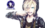 Yuri Plisetsky Render by Princess-of-Thorn