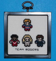 Team Rogers Cross Stitch by chujo-hime