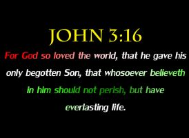 JOHN 3:16-The True Meaning of Christmas by DRYeisleyCreations
