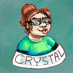 Birthday Giftart- My Aunt Crystal by Reptonic