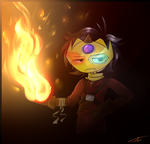 Flames by TVZRandomness