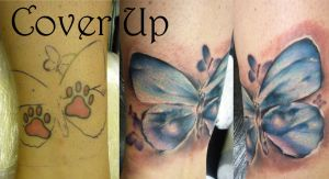 Butterfly cover by tatuato