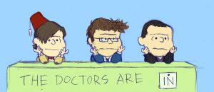 The Doctors are in by LizzieDaKittie
