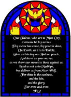 Falcon Prayer by MasqueNoMercy