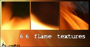 66 flame textures by nyaubaby