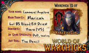 Maricah Warchicks ID by MageStiles