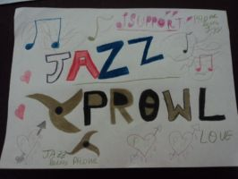I support Jazz and Prowl love by marianasumdac
