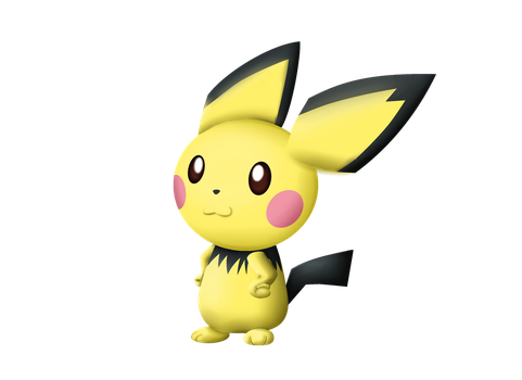 Pichu - SSB4 Style by andre1007