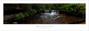 Upper Wentworth Falls, Blue Mt by MattLauder