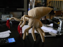 Halo Flood Spore plushie by Chesca01