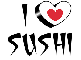 I love sushi by SuperFriki