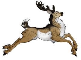 LotF: Outrider Stag by Tigryph