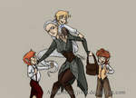 Nosey hobbits be nosey by Jivra