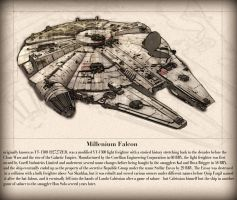 Millenium Falcon By Mike Smith by mikesmithimages