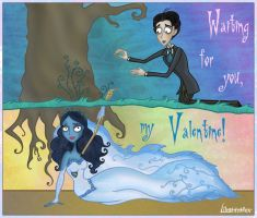 Corpse Bride - waiting for you by Lilostitchfan