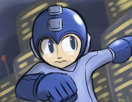 Megaman by supereva01